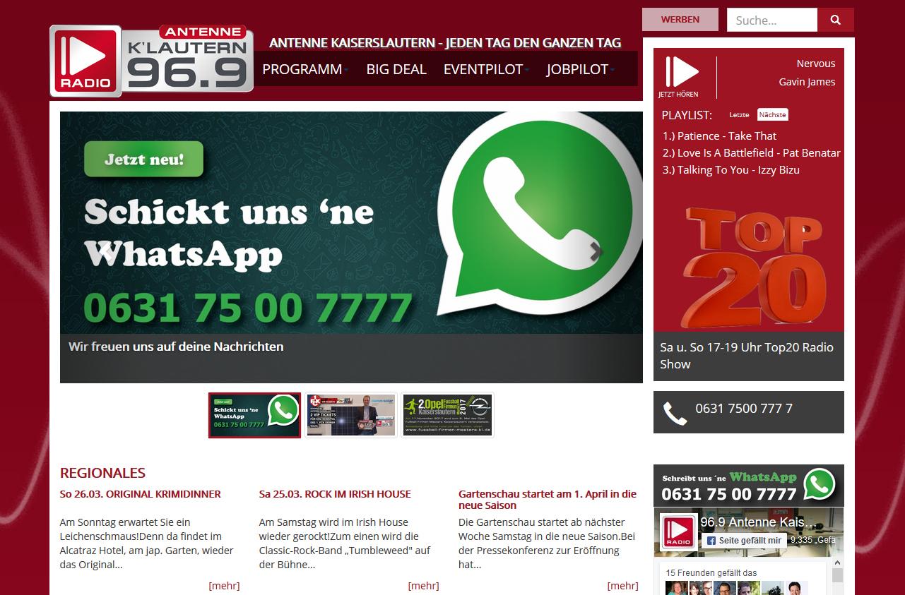 Antenne Kaiserslautern | Rundfunk